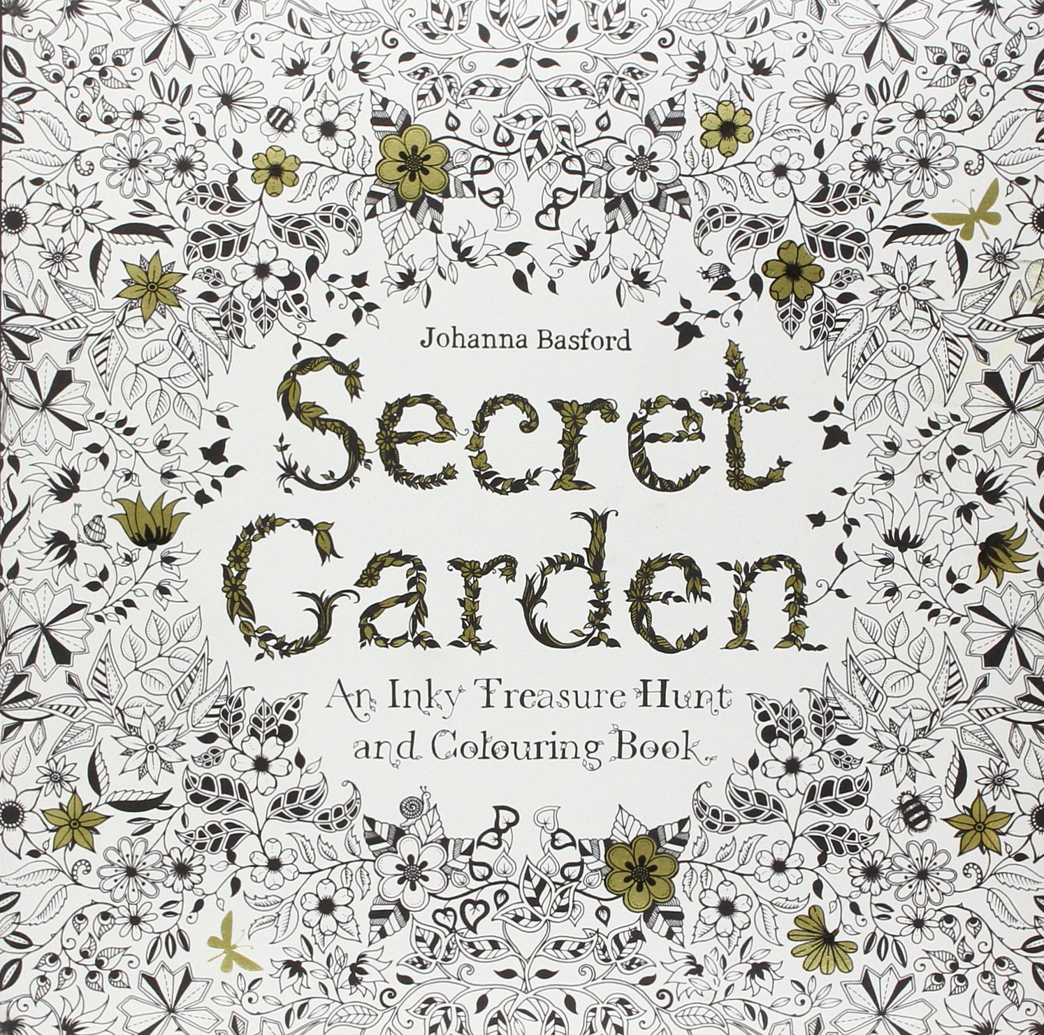 Coloring pages of secret garden