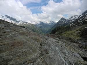 Auf dem Weg zum Gletscher  Schlatenkees