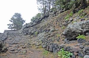 Der Weg oberhalb von Garachico