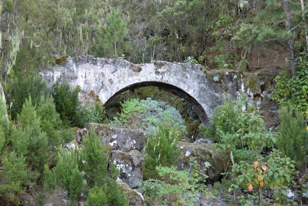 Alter Wasserbogen der Ruta de Agua, Orotavatal