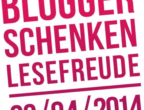 Blogger schenken Lesefreude 2014 – Buchverlosung Ergebnis