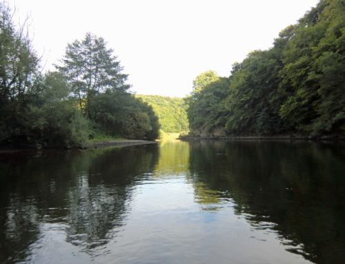Die Kanutour Lahn von Weilburg nach Aumenau