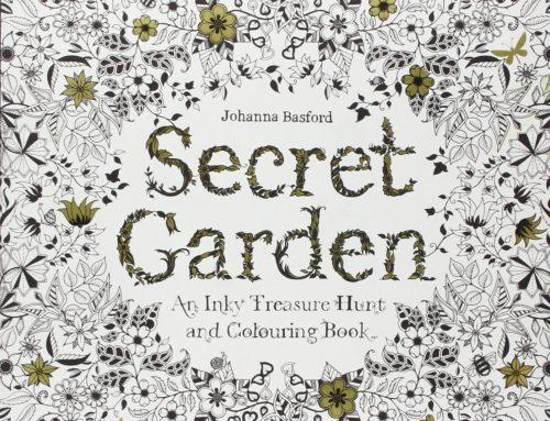 Buchtipp – Secret Garden, Malbuch für Erwachsene mit Naturmotiven