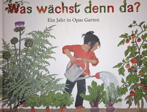 Buchtipp: Gartenjahr Buch für Kinder – Was wächst denn da?