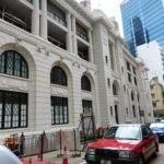 Das alte Gebäude der Central Police Station kam leider gar nicht zur Geltung.