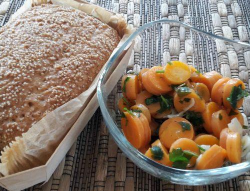 Karotten einlegen mit Knobi und Koriander