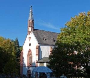 Rheinsteig wandern Kloster Marienthal