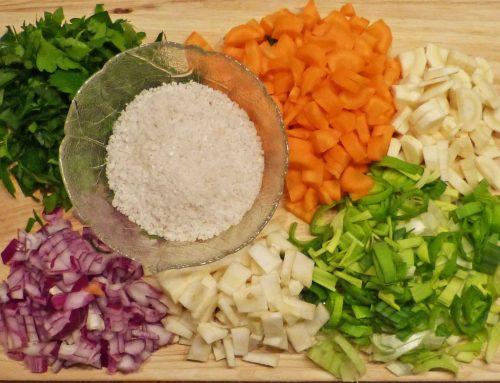 Rezept – Frische Gemüsebrühe selber machen