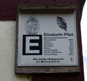 elisabethpfad 4 wegzeichen