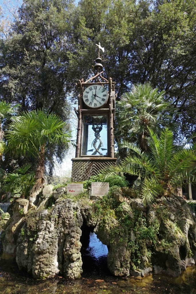 grüne oase rom villa borghese