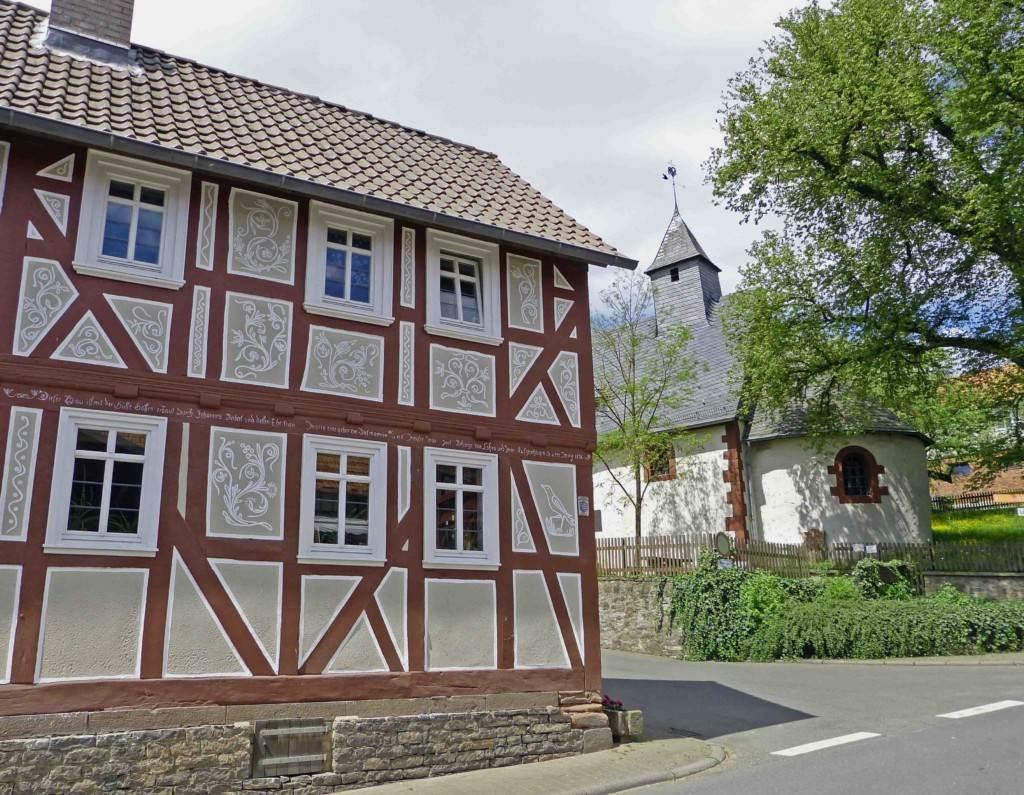 elisabethpfad in hessen altenvers kirche