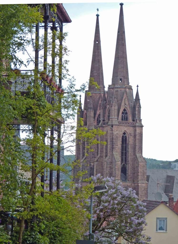 Elisabethpfad marbrug Elisabethkirche