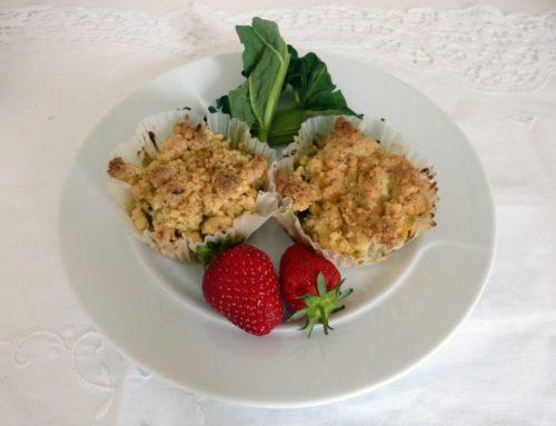 Rezept – Rhabarber Muffins glutenfrei