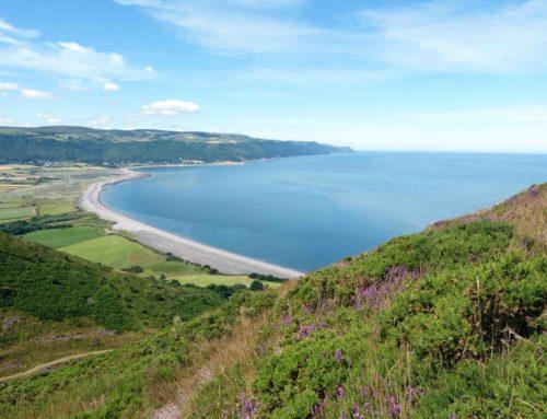 Wanderung in Somerset an der Küste