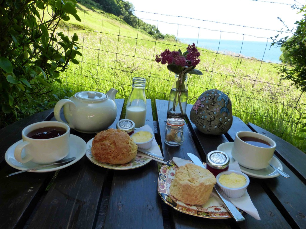 Exmoor Wanderung Tea Time
