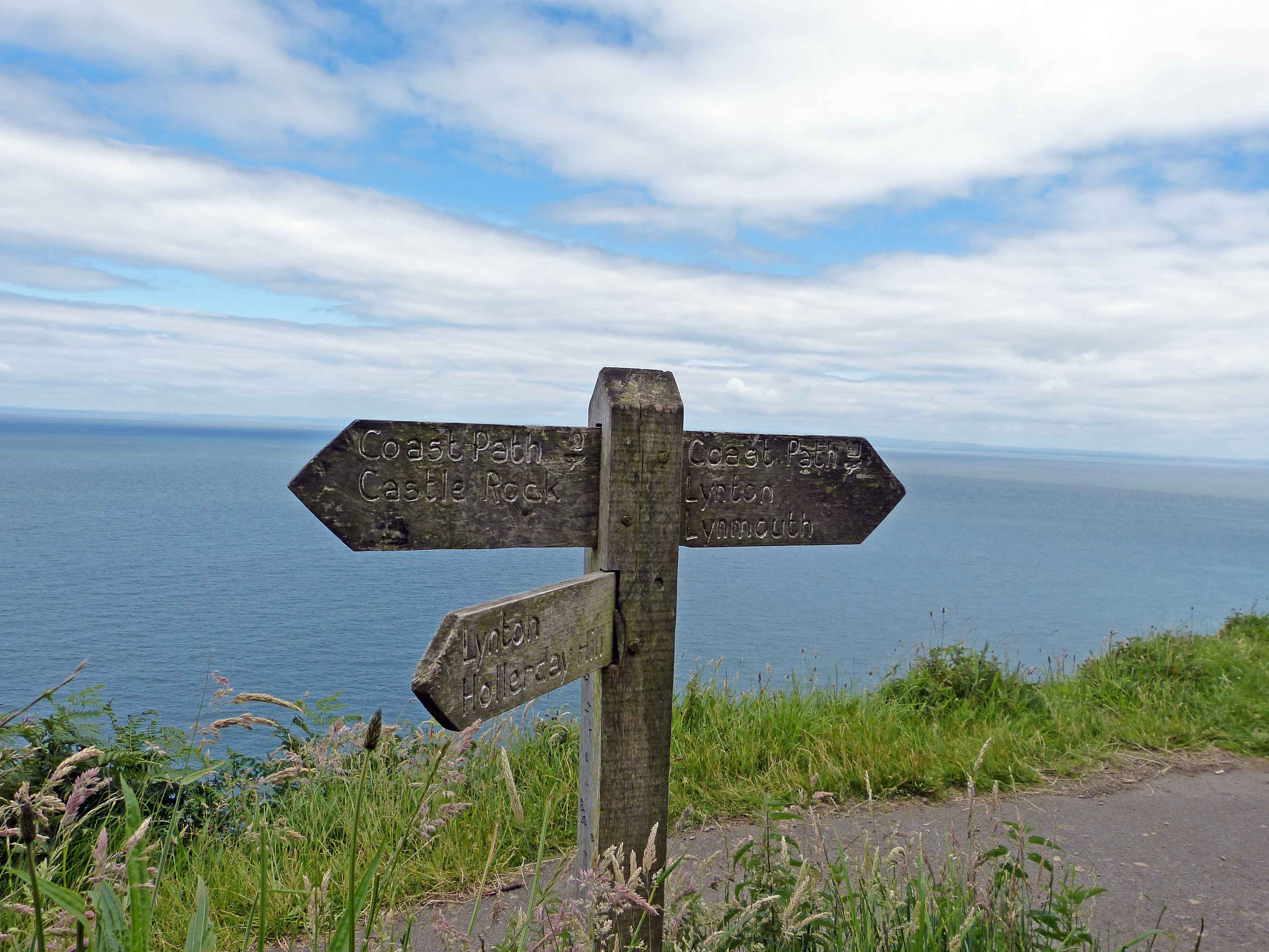 Exmoor Wanderung South west coast path