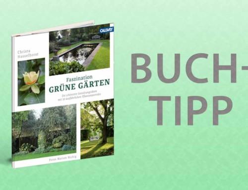 Buchtipp – Grüne Gärten, Gestaltung und Pflanzen