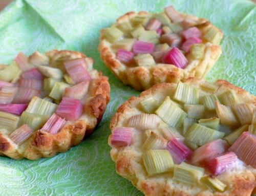 Rezept – Rhabarber Tartelette glutenfrei