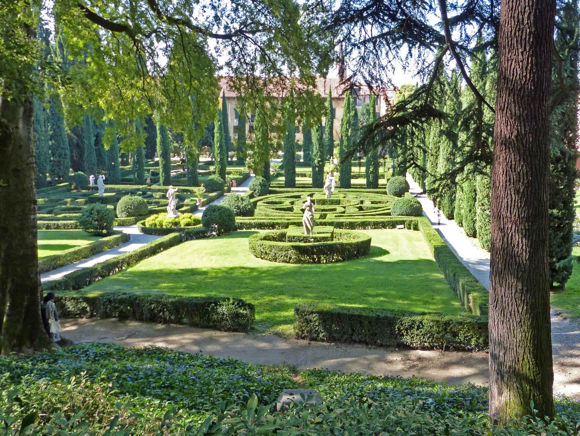Berühmte gärten u giardino giusti in verona raempel
