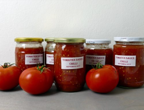 Rezept – Tomatensauce einkochen