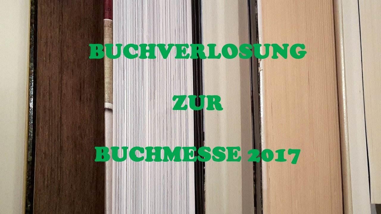 Buchverlosung Buchmesse 2017