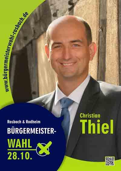 Ihre Bürgermeisterwahl für Rosbach & Rodheim: Christian Thiel