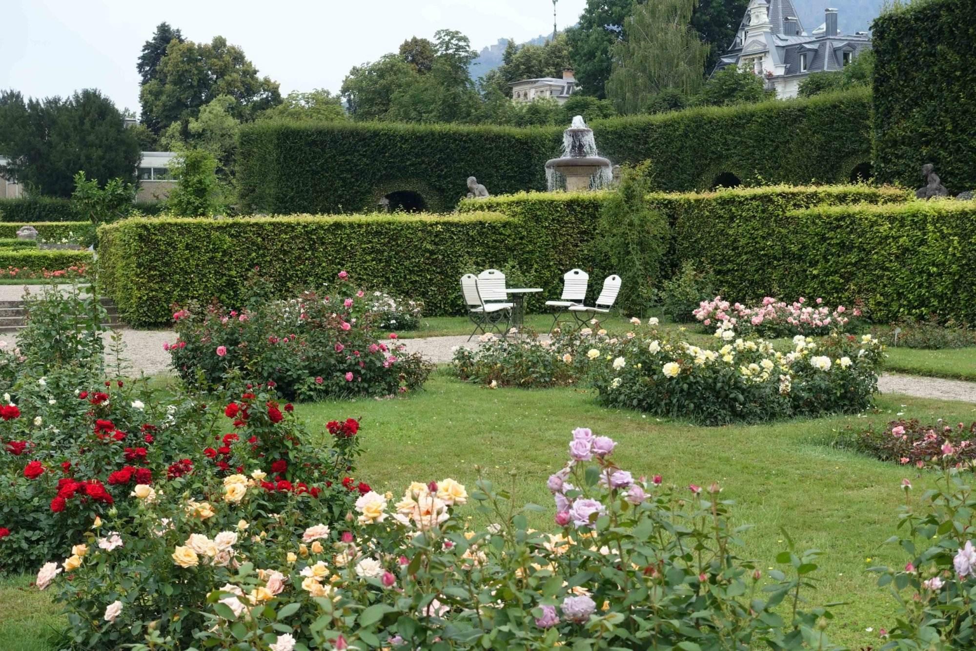 Baden-Baden Rosengarten Gönneranlage