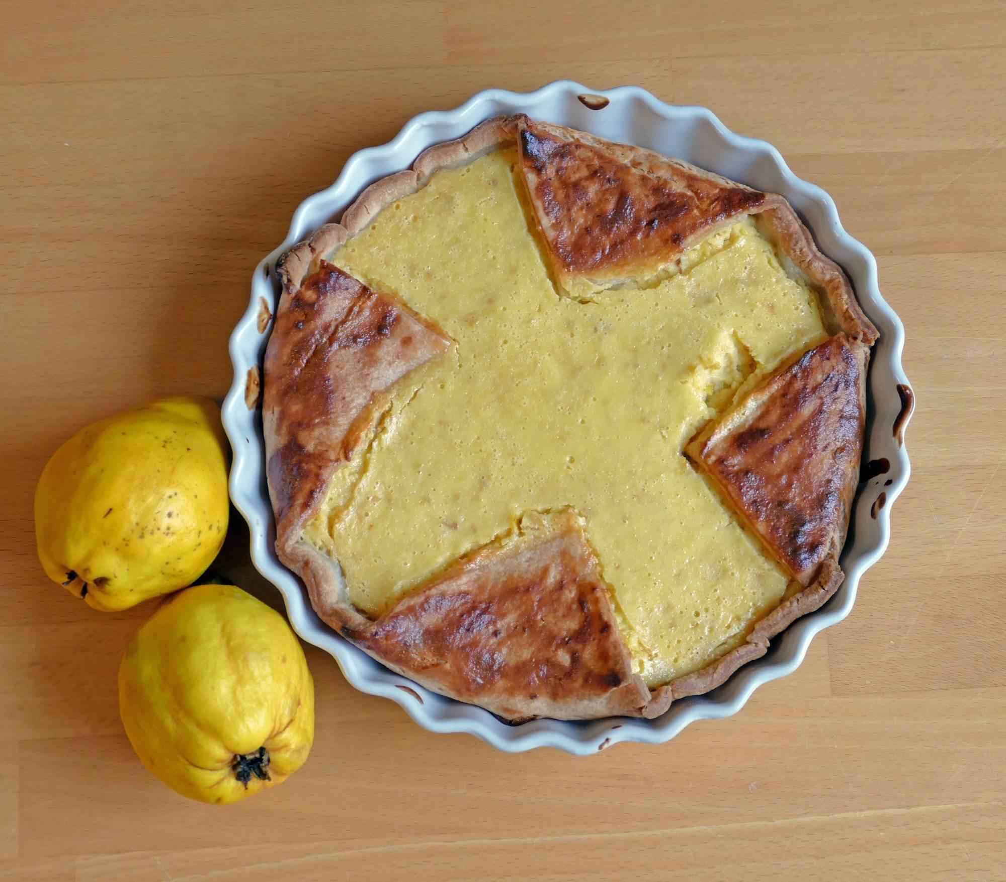Rezept Schneller Quittenkuchen Mit Blatterteig Raempel