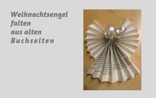 Bücher Falten Engel Aus Alten Buchseiten Raempel