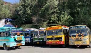 Busse IIndien Dharamsala