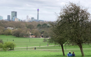 london view primrose hill