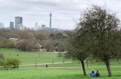 london view primrose hill