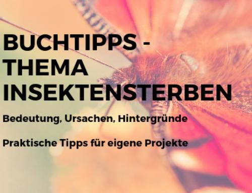 Buchtipp – Bücher zum Thema Insektensterben