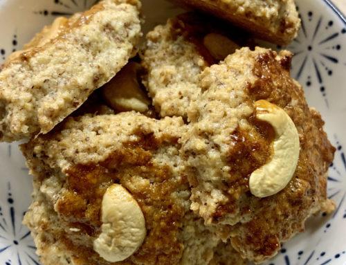 Weihnachtsplätzchen glutenfrei – Cashew Lebkuchen Kekse