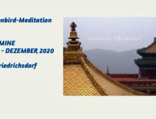 Meditation in 2020 – Termine Juli bis Dezember