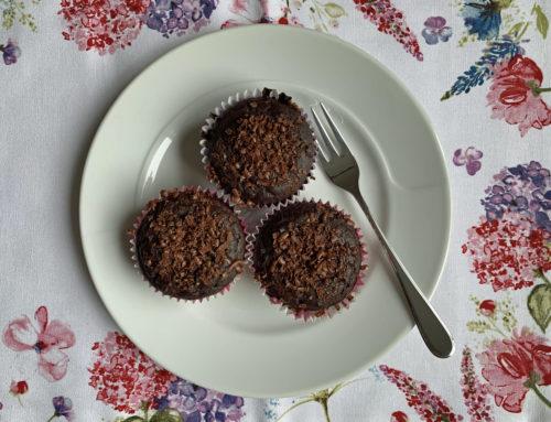 Schokoladenmuffins glutenfrei und lactosefrei