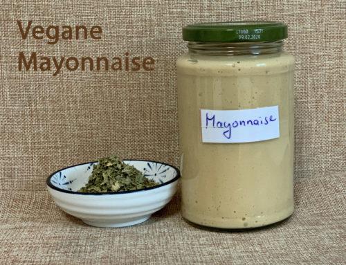 Rezept – Vegane Mayonnaise
