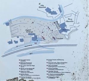 Karte Landschaftgarten Rheintal