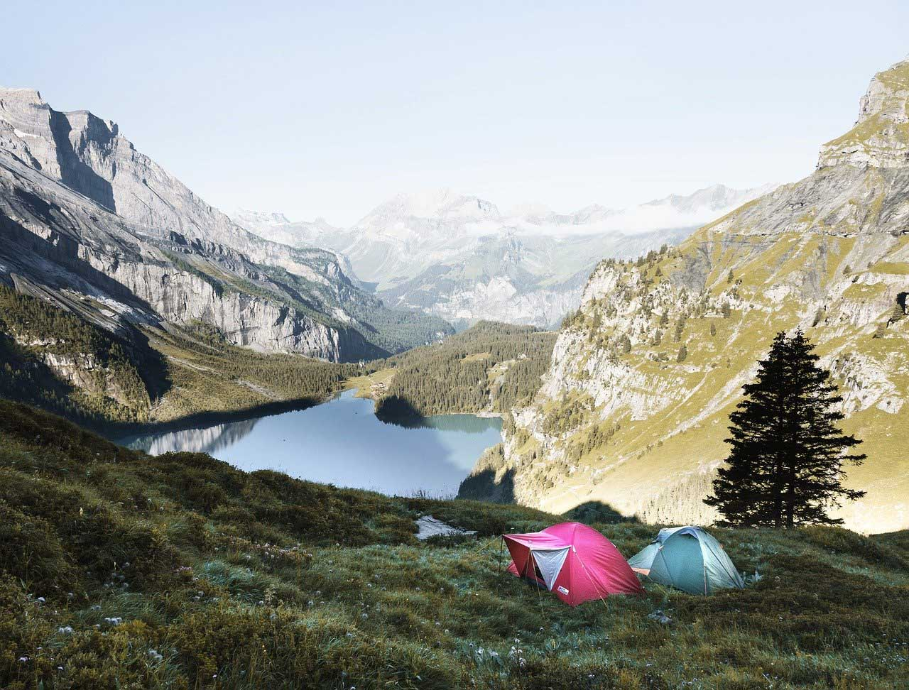 Camping Wochenende am See